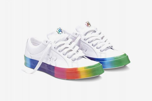 "GOLF LE FLEUR* X CONVERSE ONE STAR ""PRIDE MONTH"" PREVIEW"