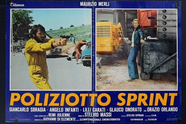 IL FILM DI GENERE PERFETTO – POLIZIOTTO SPRINT (1977/STELVIO MASSI)