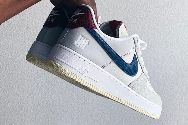 UNDEFEATED X NIKE AIR FORCE 1 LOW PREVIEW